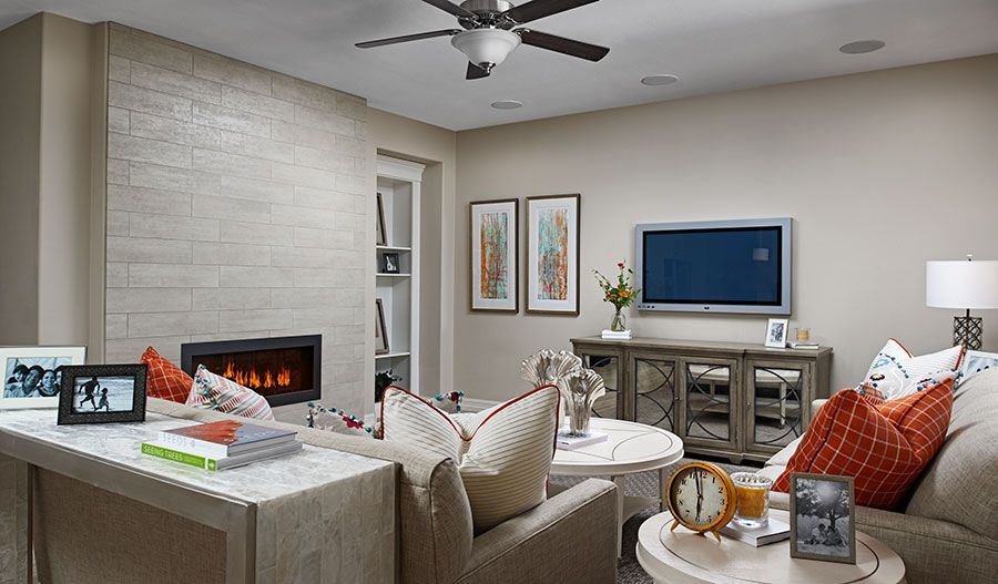 Living Area featured in the Coronado By Richmond American Homes in Tucson, AZ