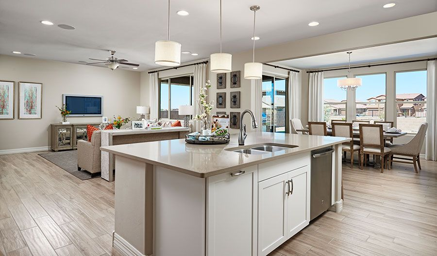 Kitchen featured in the Coronado By Richmond American Homes in Tucson, AZ