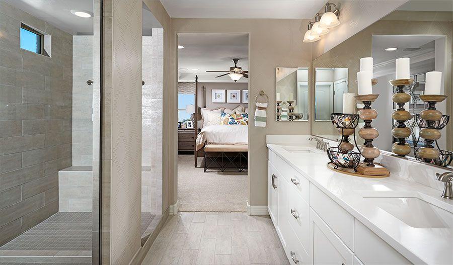 Bathroom featured in the Coronado By Richmond American Homes in Tucson, AZ