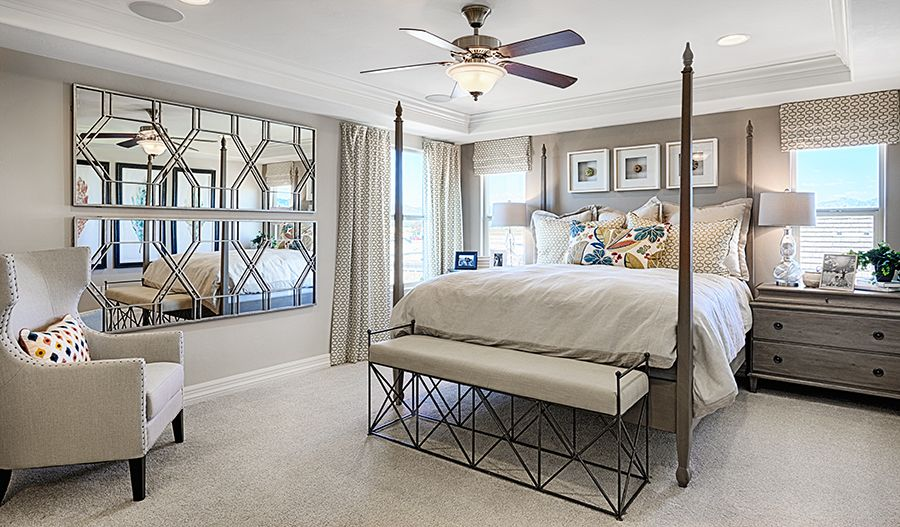 Bedroom featured in the Coronado By Richmond American Homes in Tucson, AZ
