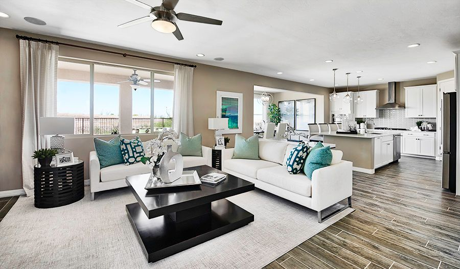 Living Area featured in the Yorktown By Richmond American Homes in Tucson, AZ