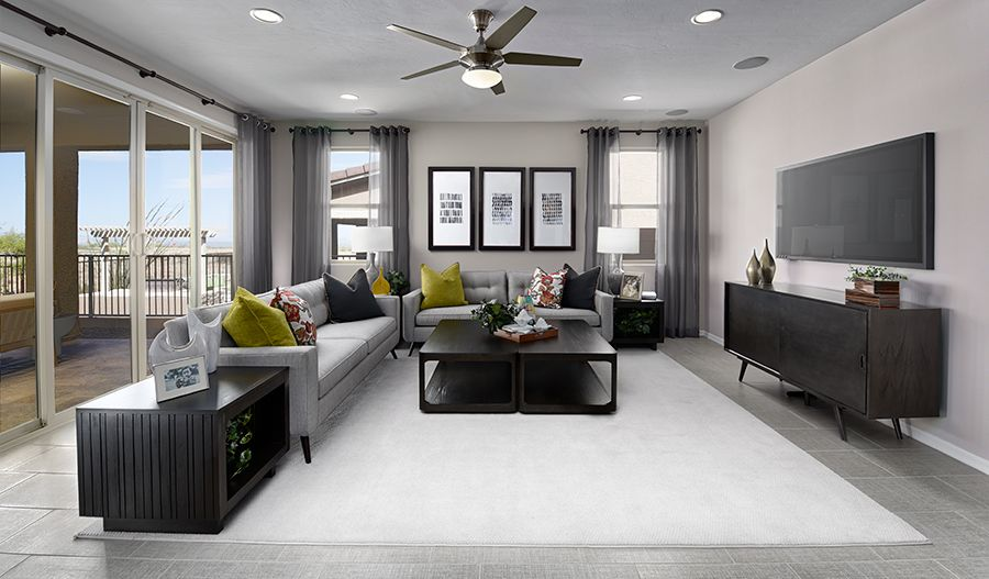 Living Area featured in the Augusta By Richmond American Homes in Tucson, AZ