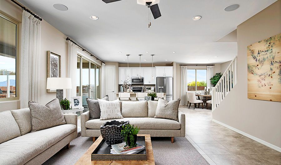 Living Area featured in the Pearl By Richmond American Homes in Tucson, AZ