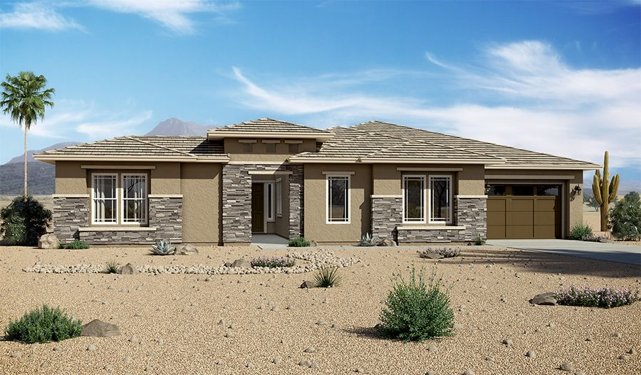 Exterior featured in the Raven By Richmond American Homes in Tucson, AZ