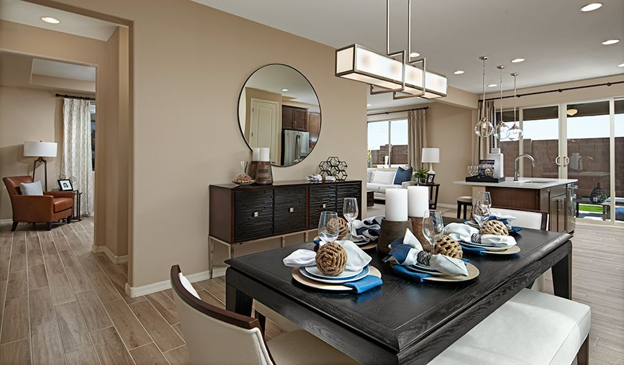 Living Area featured in the Lawson By Richmond American Homes in Tucson, AZ