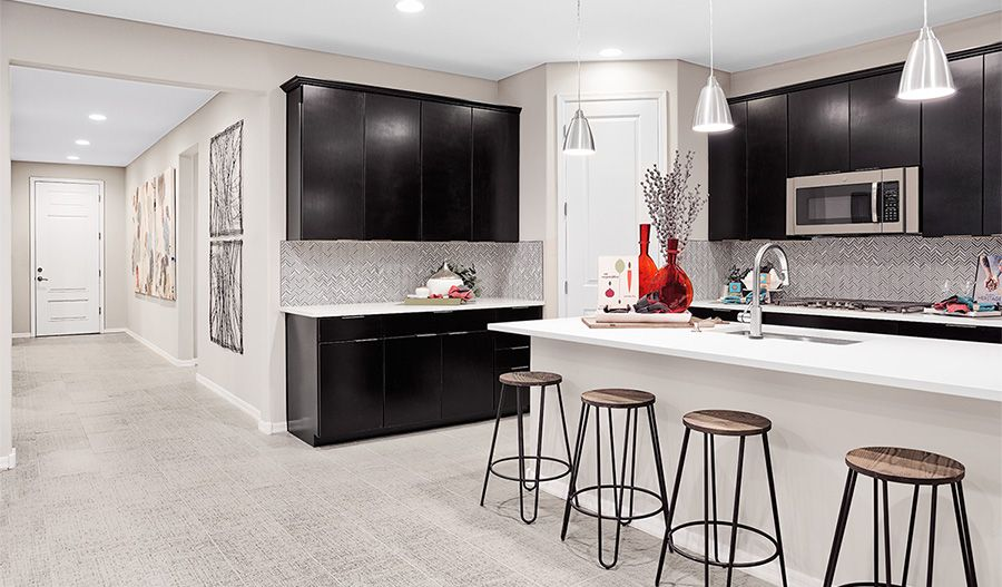 Kitchen featured in the Augusta By Richmond American Homes in Tucson, AZ