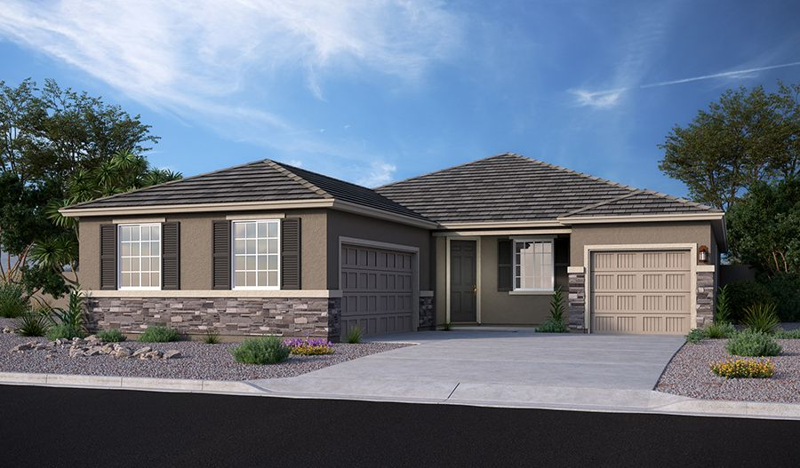Exterior featured in the Townsend By Richmond American Homes in Tucson, AZ