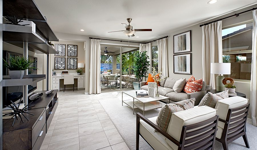 Living Area featured in the Sunstone By Richmond American Homes in Tucson, AZ
