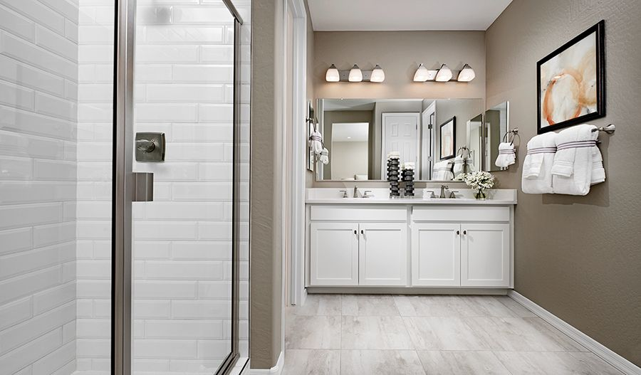 Bathroom featured in the Sunstone By Richmond American Homes in Tucson, AZ