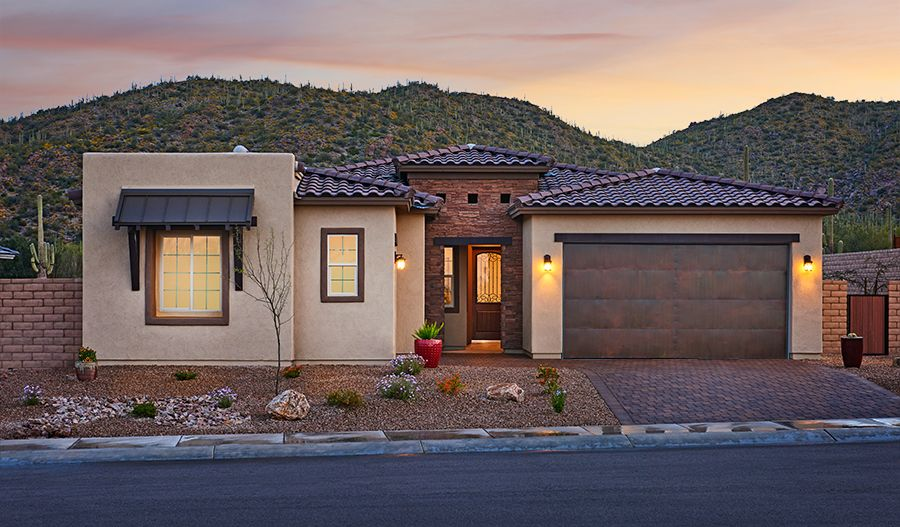 'Boulder Pass' by Richmond American Homes - Tucson in Tucson