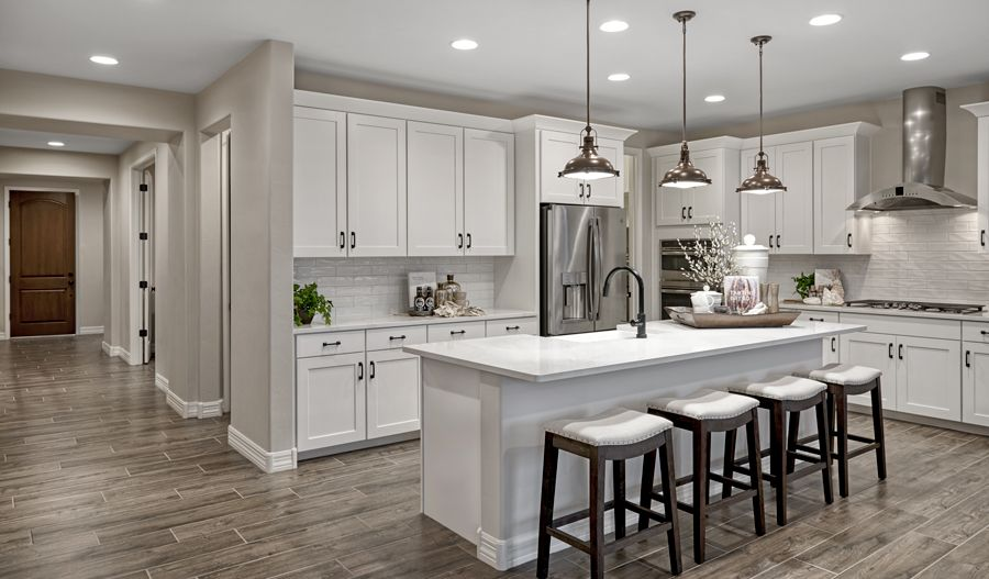 Kitchen featured in the Deacon By Richmond American Homes in Tucson, AZ