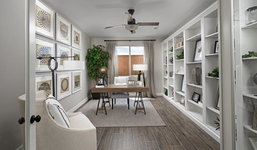 Living Area featured in the Deacon By Richmond American Homes in Tucson, AZ