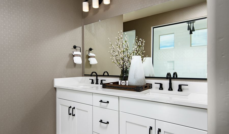 Bathroom featured in the Deacon By Richmond American Homes in Tucson, AZ