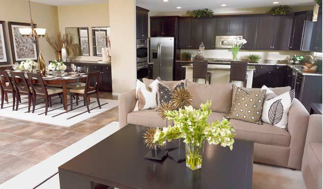 Living Area featured in the Denise By Richmond American Homes in Tucson, AZ