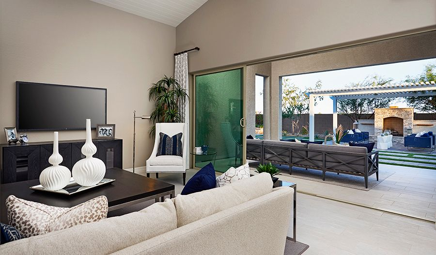 Living Area featured in the Raven By Richmond American Homes in Tucson, AZ
