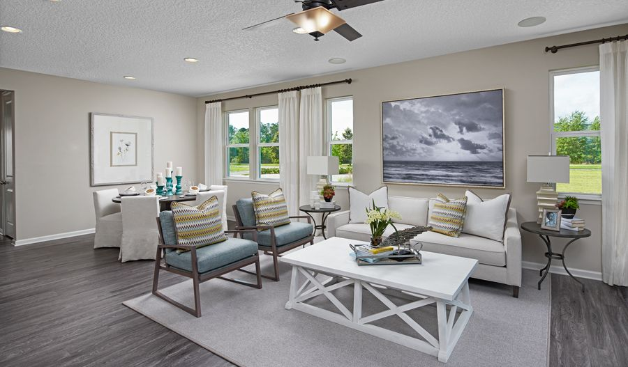 Living Area featured in the Larimar By Richmond American Homes in Tucson, AZ