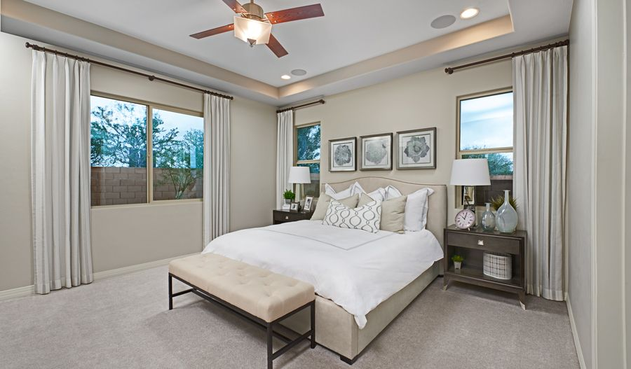 Bedroom featured in the Townsend By Richmond American Homes in Tucson, AZ