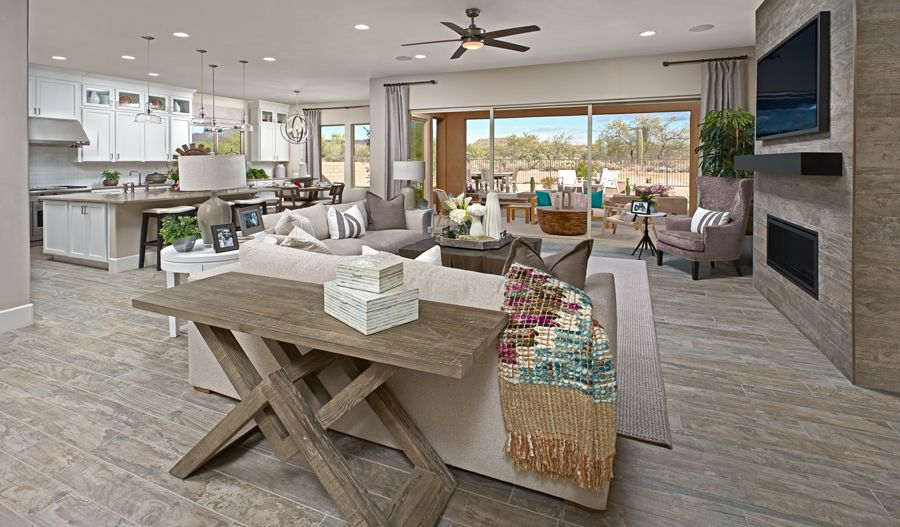 Living Area featured in the Holbrook By Richmond American Homes in Tucson, AZ