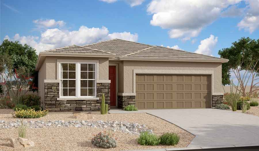 Exterior featured in the Sunstone By Richmond American Homes in Tucson, AZ