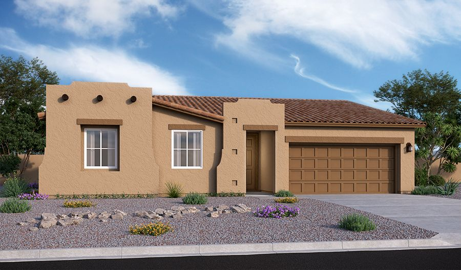 Exterior featured in the Daniel By Richmond American Homes in Tucson, AZ