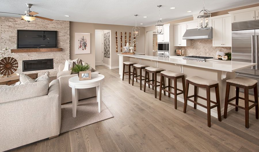 Living Area featured in the Harris By Richmond American Homes in Tucson, AZ