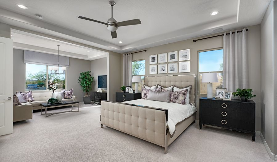 Bedroom featured in the Darius By Richmond American Homes in Tucson, AZ