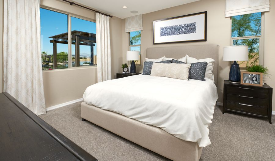Bedroom featured in the Sapphire By Richmond American Homes in Phoenix-Mesa, AZ