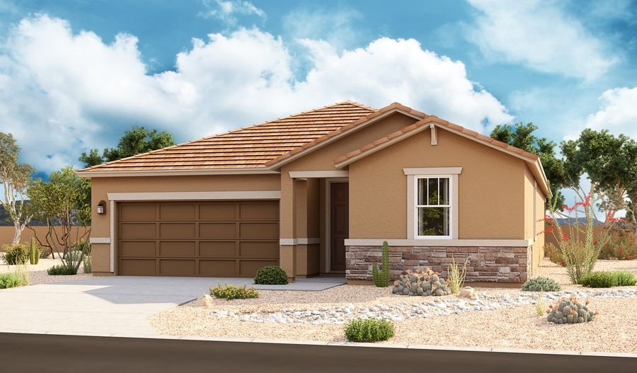 Exterior featured in the Arlington By Richmond American Homes in Tucson, AZ