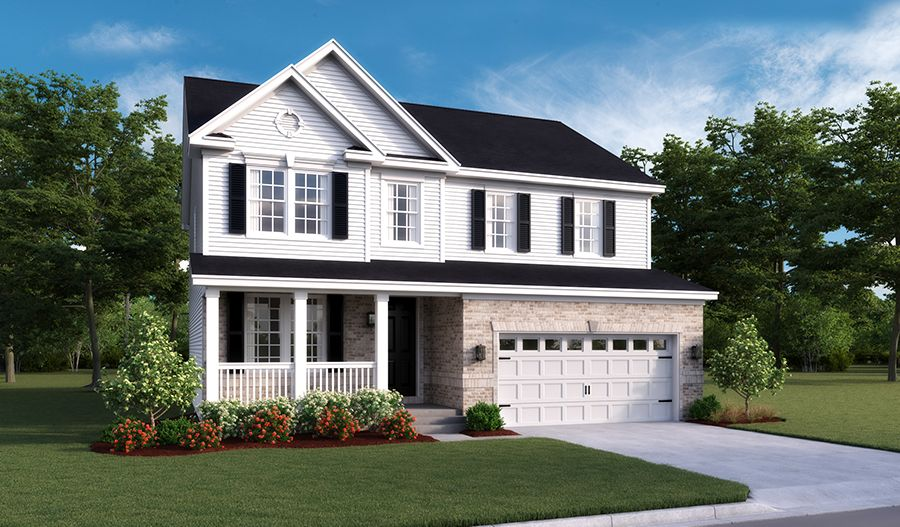 Exterior featured in the Hemingway By Richmond American Homes in Washington, VA