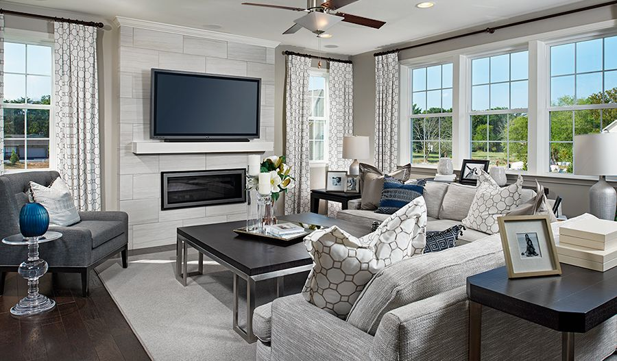 Living Area featured in the Hemingway By Richmond American Homes in Washington, VA