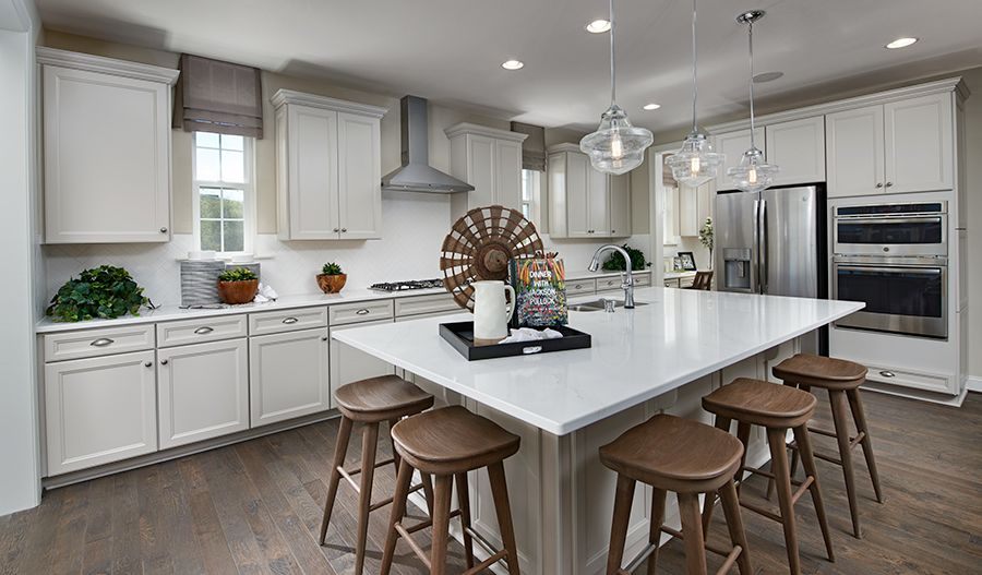 Kitchen featured in the Hopewell By Richmond American Homes in Washington, VA
