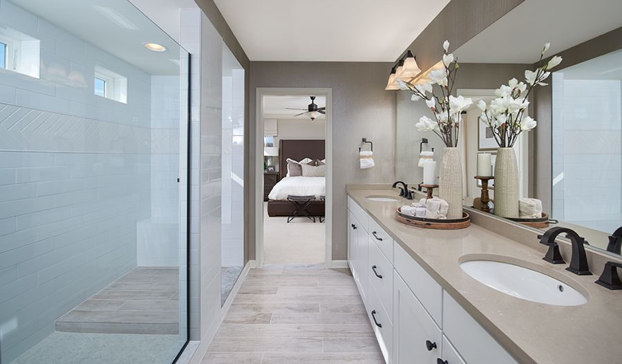 Bathroom featured in the Coronado By Richmond American Homes in Washington, VA