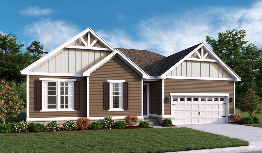 Exterior featured in the Decker By Richmond American Homes in Washington, VA