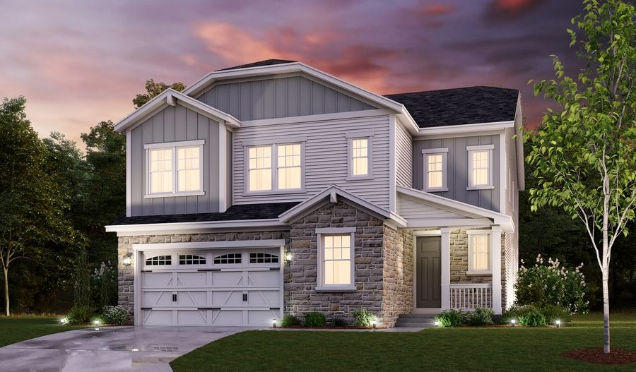 Exterior featured in the Yellowstone By Richmond American Homes in Washington, VA