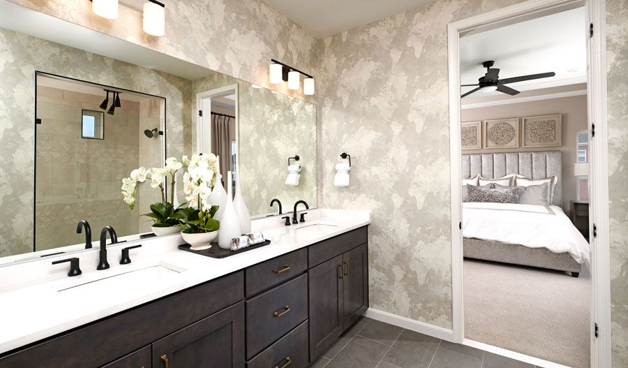 Bathroom featured in the Yellowstone By Richmond American Homes in Washington, VA