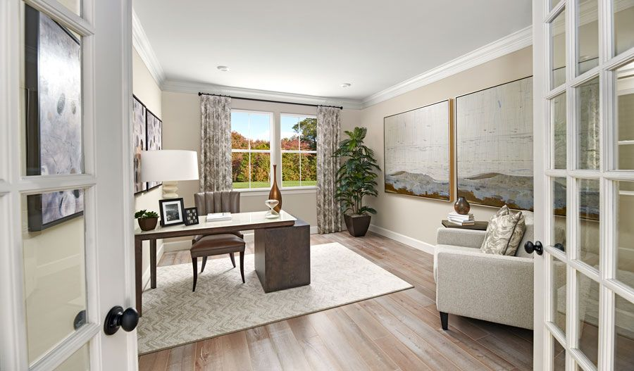 Living Area featured in the Yellowstone By Richmond American Homes in Washington, VA