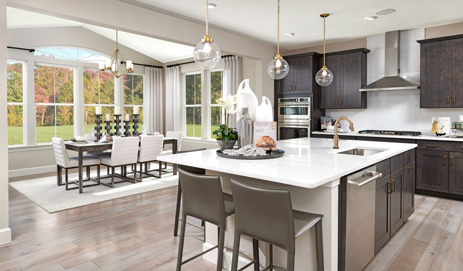 Kitchen featured in the Yellowstone By Richmond American Homes in Washington, VA