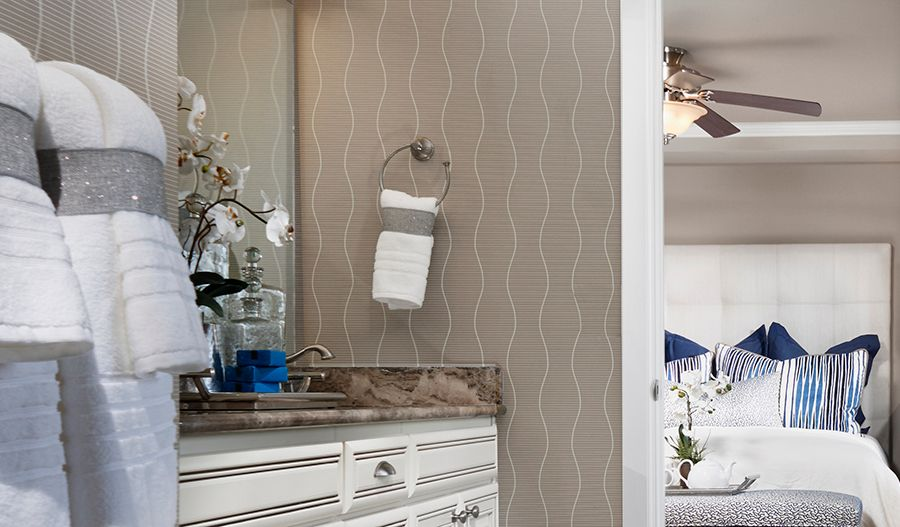 Bathroom featured in the Hemingway By Richmond American Homes in Colorado Springs, CO