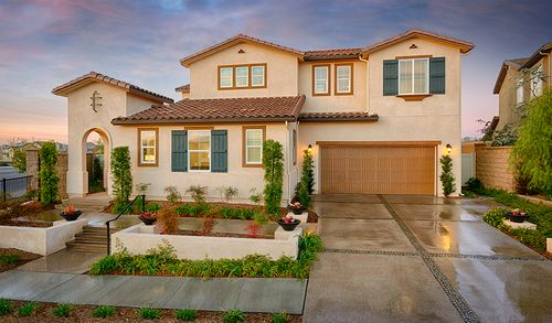 Sycamore North At Spencer S Crossing By Richmond American Homes In Riverside San Bernardino California