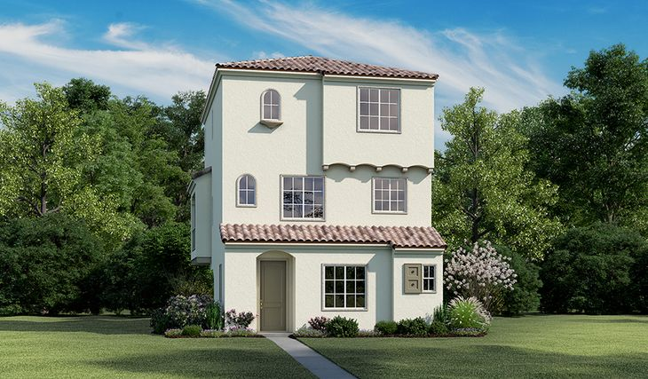 Embrey-S763-HeirloomAtThePreserve Elevation A:The Embrey-Elevation A