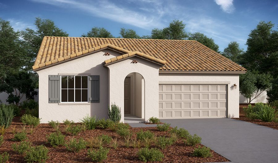 Exterior featured in the Alexandrite By Richmond American Homes in Los Angeles, CA