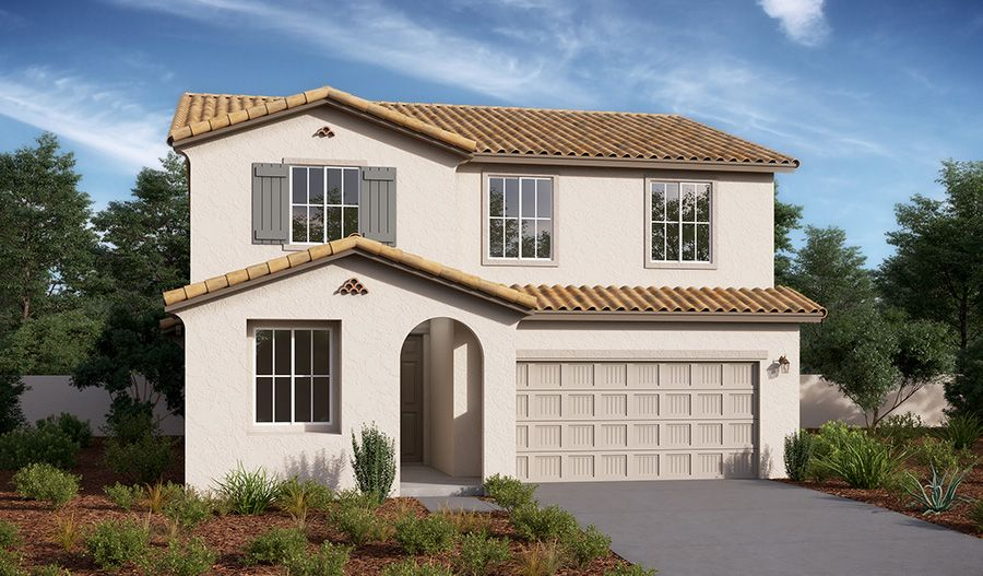 Exterior featured in the Pearl By Richmond American Homes in Los Angeles, CA