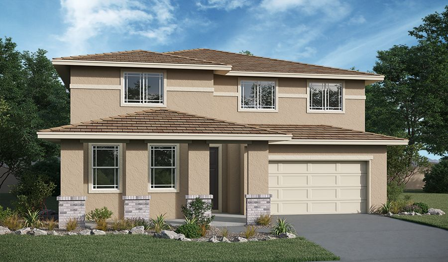 Exterior featured in the Ammolite By Richmond American Homes in Los Angeles, CA