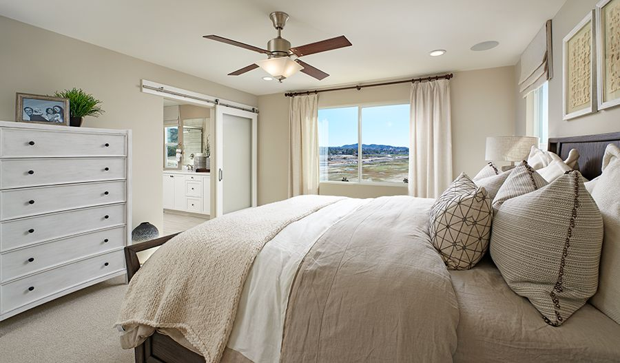 Bedroom featured in the Pearl By Richmond American Homes in Los Angeles, CA
