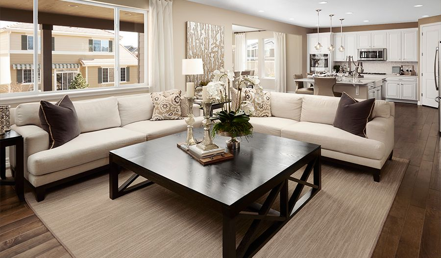 Living Area featured in the Holston By Richmond American Homes in Denver, CO