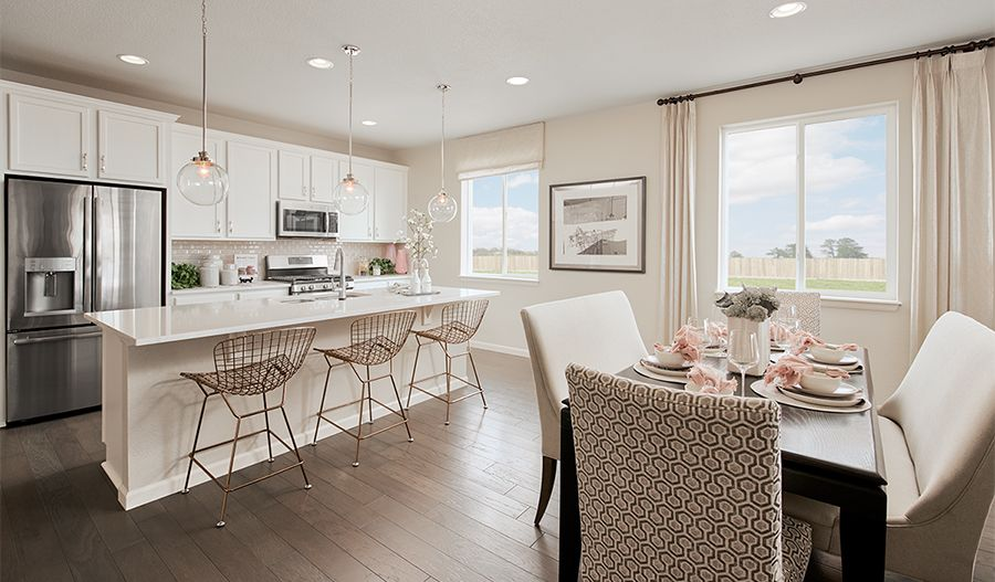 Kitchen featured in the Alexandrite By Richmond American Homes in Denver, CO