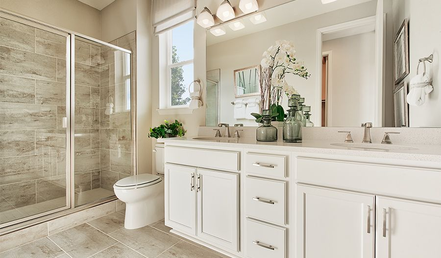 Bathroom featured in the Alexandrite By Richmond American Homes in Los Angeles, CA