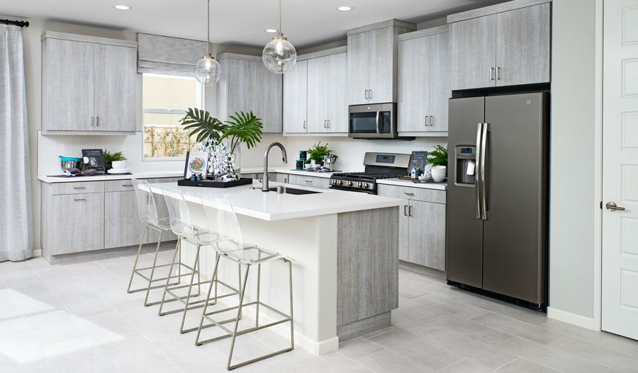 Kitchen featured in the Agate By Richmond American Homes in Los Angeles, CA