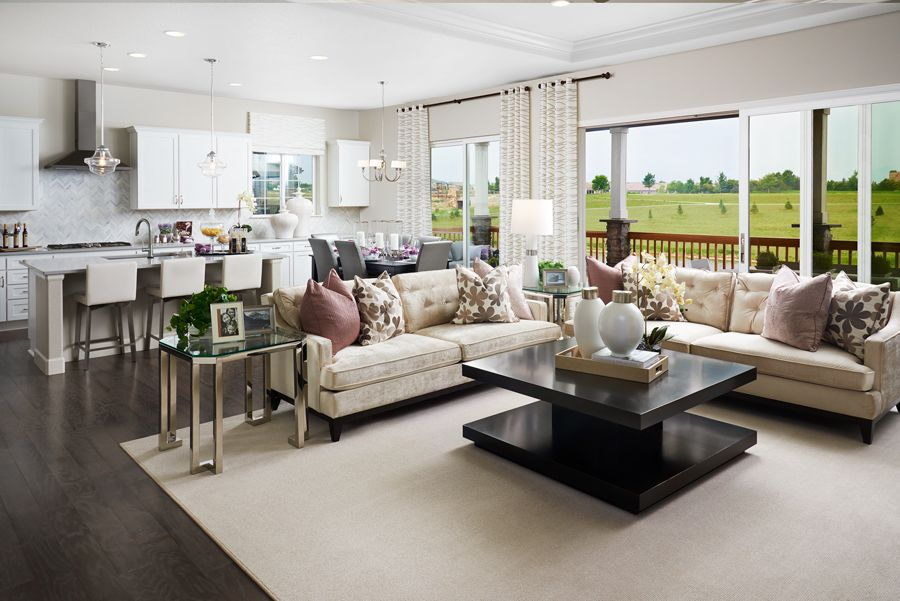 Living Area featured in the Daniel By Richmond American Homes in Denver, CO