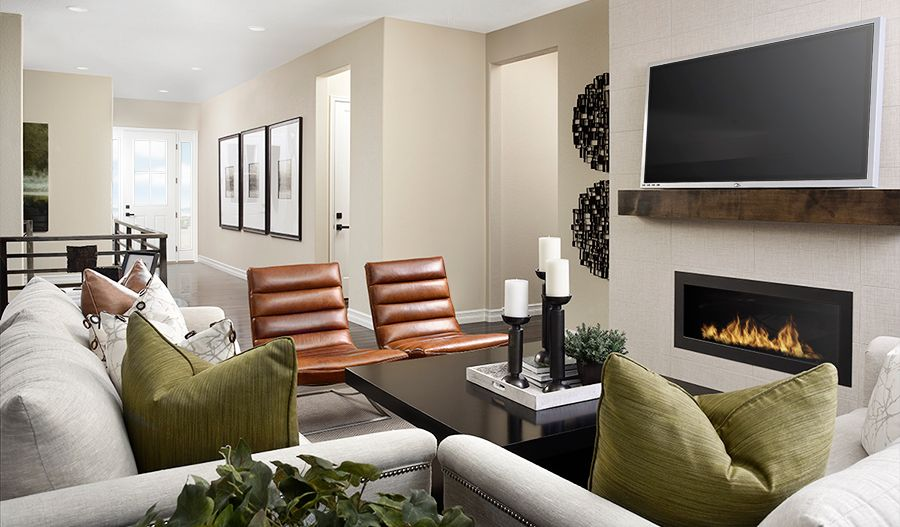 Living Area featured in the Delaney By Richmond American Homes in Denver, CO